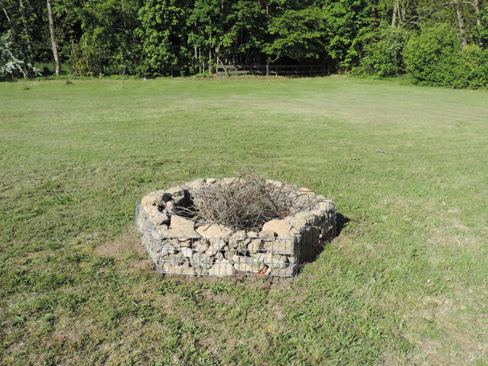 Lagerfeuer Platz Stelle Steine